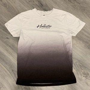 White, Gray, & Black Hombre Hollister T-Shirt